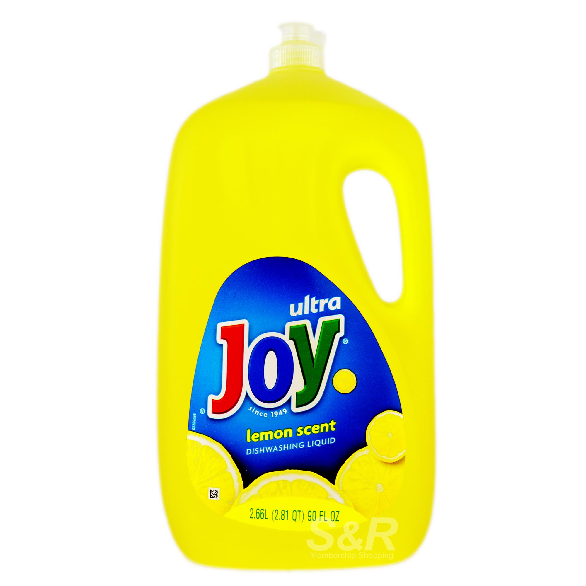 Joy Ultra Dishwashing Liquid Lemon 2.66L