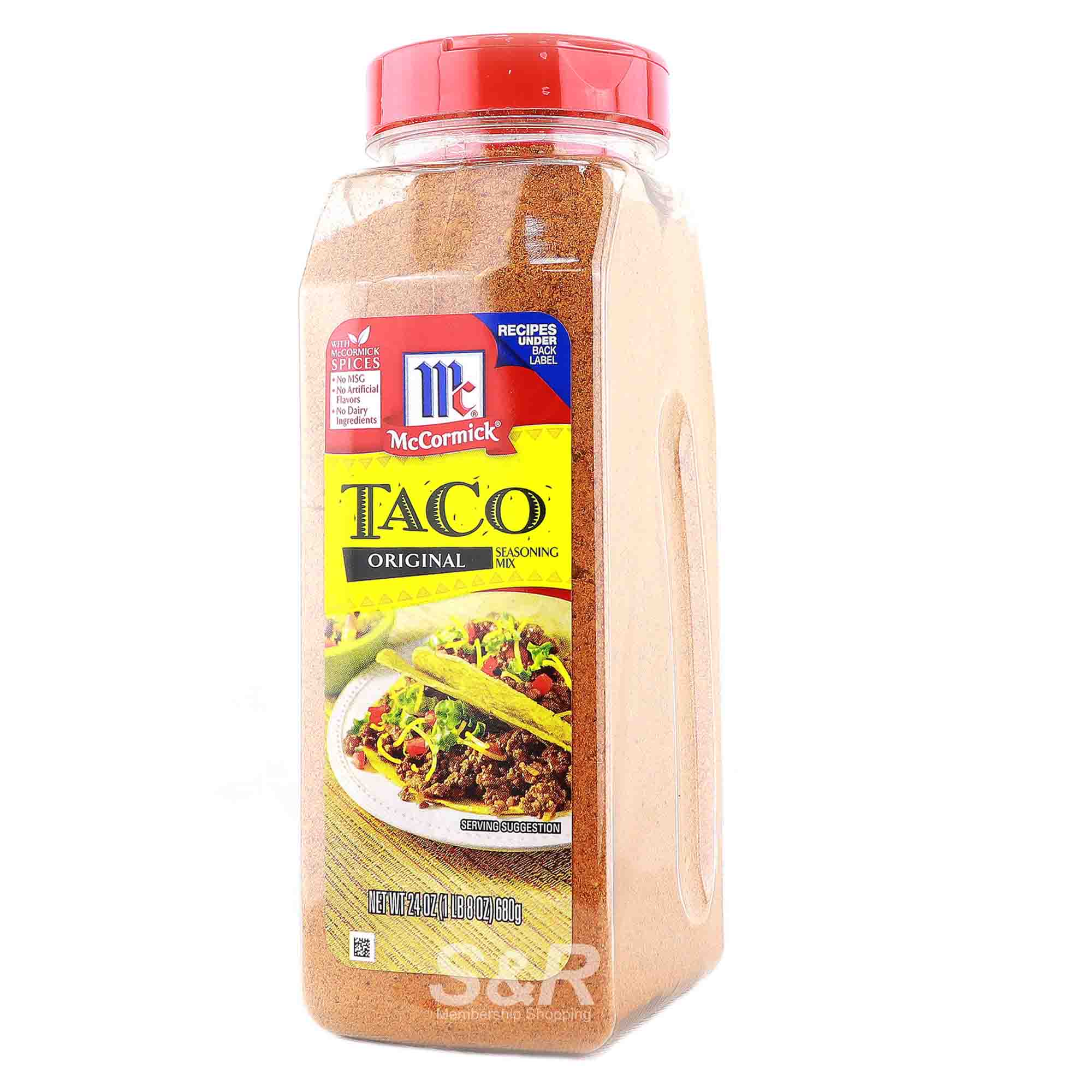 Mccormick Taco Seasoning Mix Original 680g