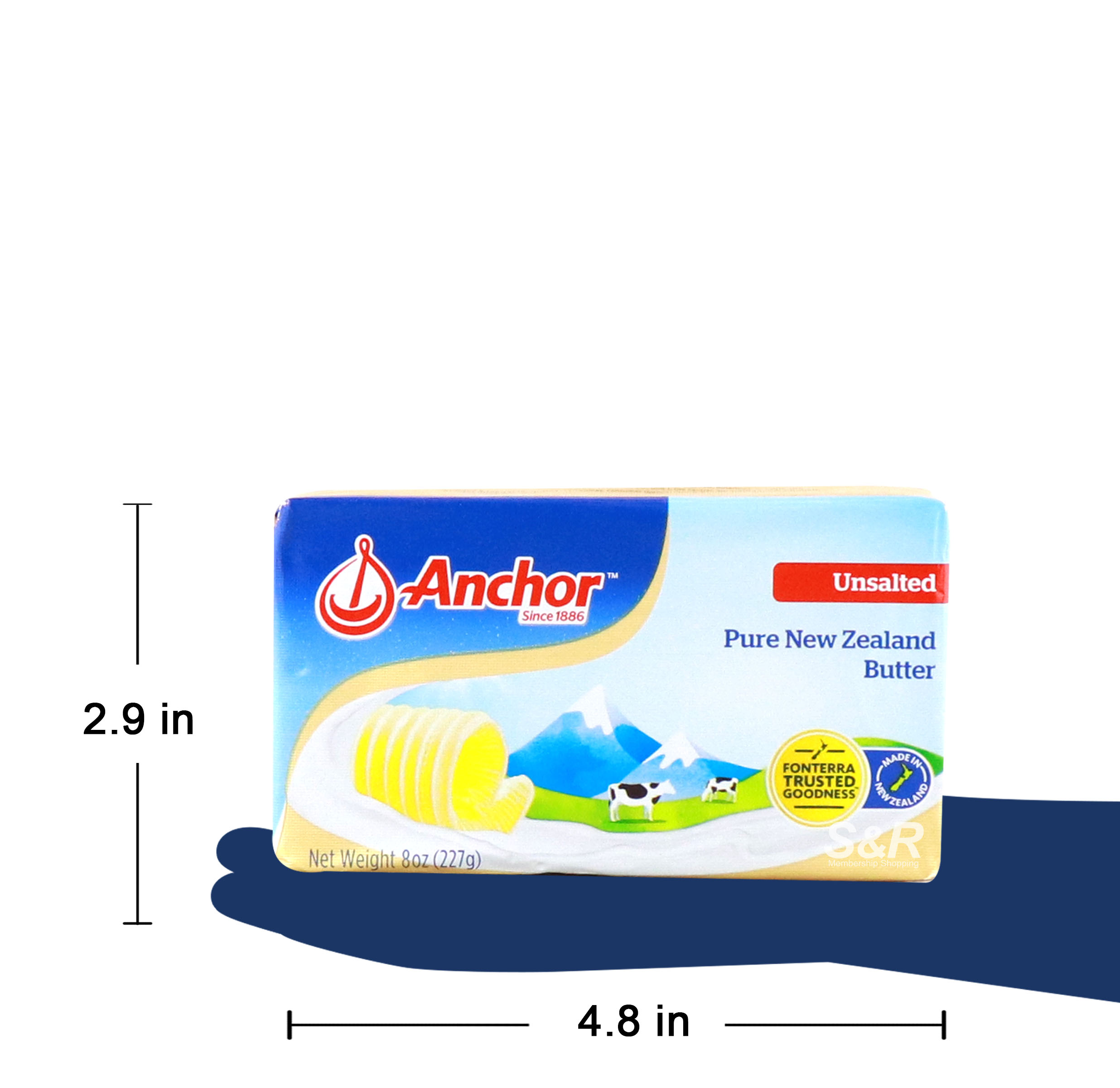 Anchor Butter Unsalted 227g
